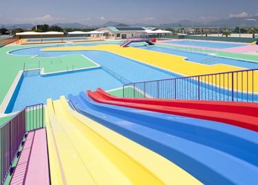 防府市スポーツセンタープール_流水プール